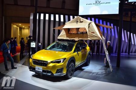 Subaru XV Fun Adventure Concept: sacando a relucir su lado aventurero