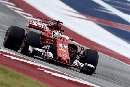 Vettel cambia el chasis de su SF70H tras los problemas en los libres