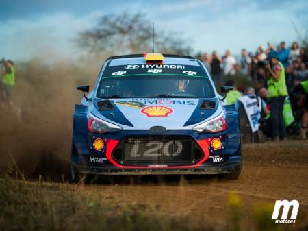 Debut y liderato de Mikkelsen con Hyundai en el Rally RACC
