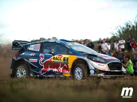 Ogier, con paso firme en el shakedown del Rally RACC