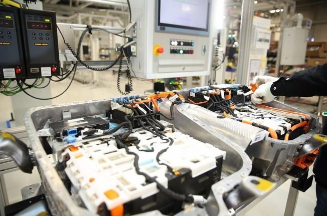 Fábrica de baterías de BMW en China