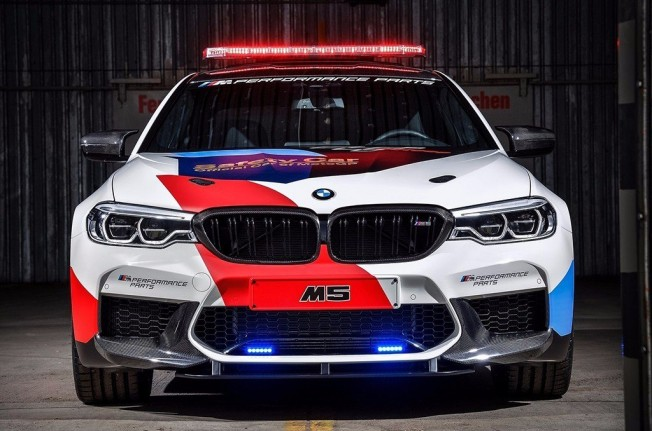 BMW M5 MotoGP Safety Car 2018 - frontal