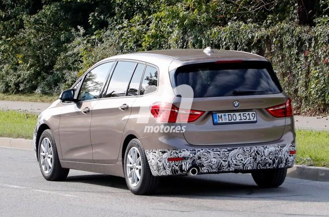 BMW Serie 2 Gran Tourer 2018 - foto espía posterior