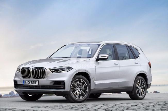 BMW X5 2018 - recreación