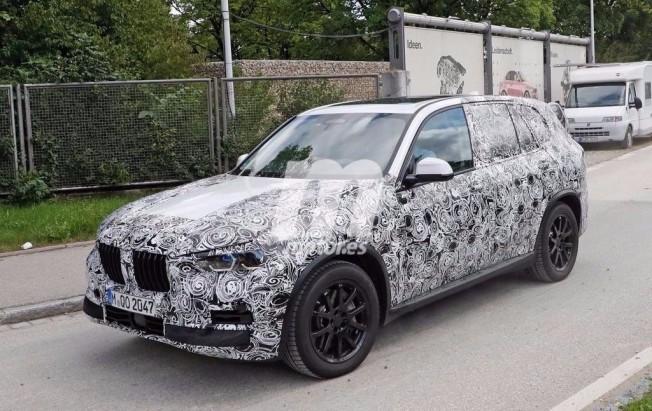 BMW X5 2018 - foto espía