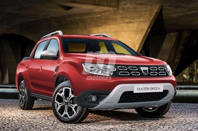 Dacia Duster Oroch 2018 - recreación