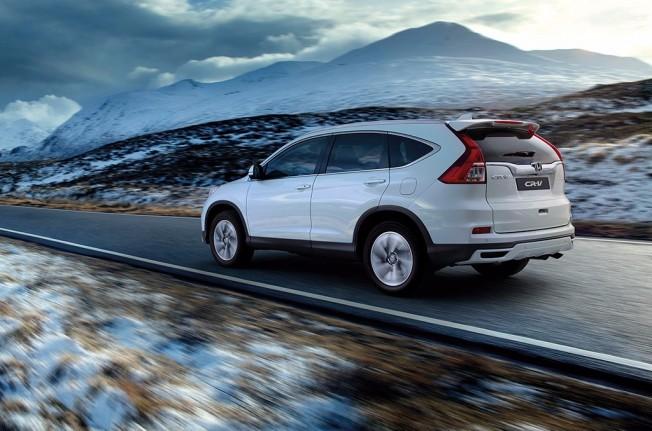 Honda CR-V Lifestyle Plus - posterior