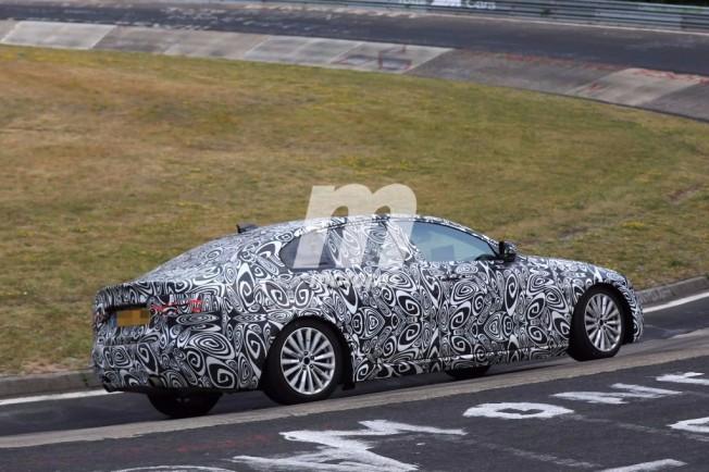 Jaguar XEL 2018 - foto espía