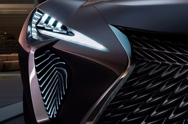 Lexus US Concept - frontal