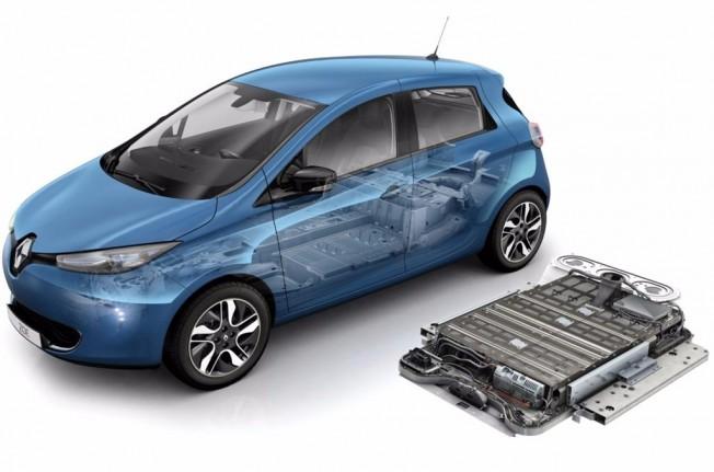 Renault Zoe - baterías