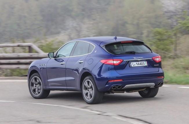 Maserati Levante - posterior