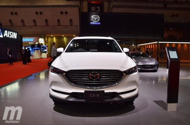Mazda CX-8 2018 - frontal