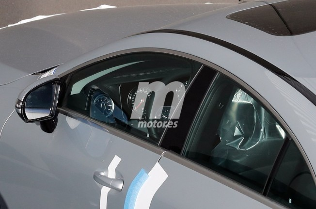 Mercedes Clase CLS 2018 - foto espía