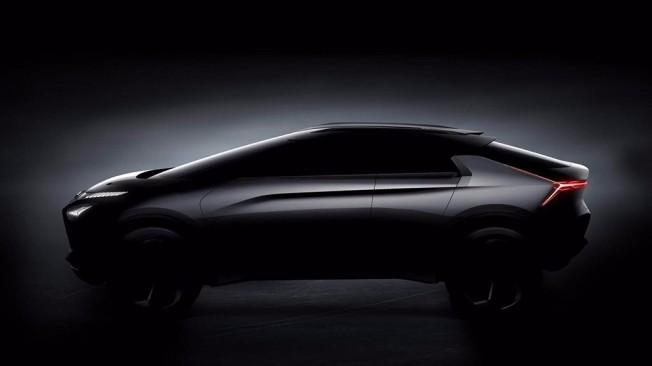 Mitsubishi e-EVOLUTION Concept - lateral