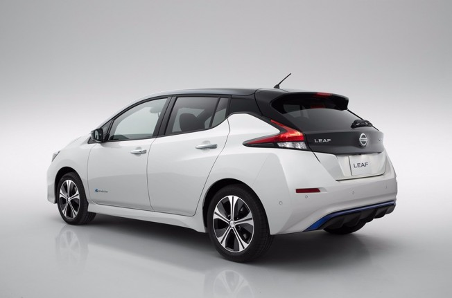Nissan Leaf 2.Zero - posterior