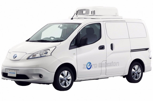 Nissan e-NV200 Fridge