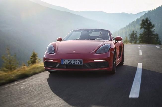 Porsche 718 Boxster GTS 2018 - frontal