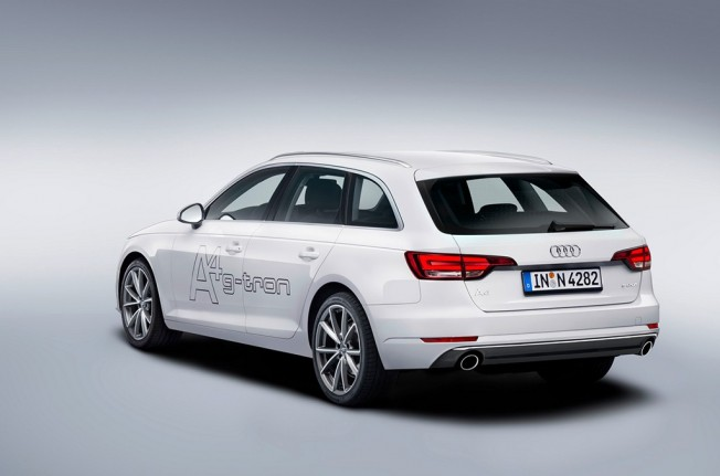 Audi A4 Avant g-tron - posterior