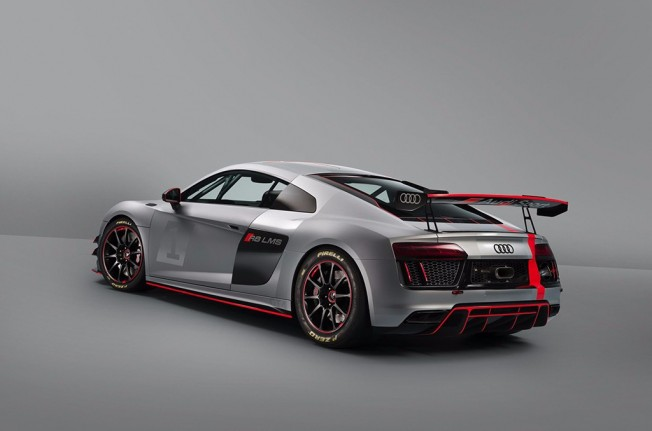 Audi R8 LMS GT4 - posterior