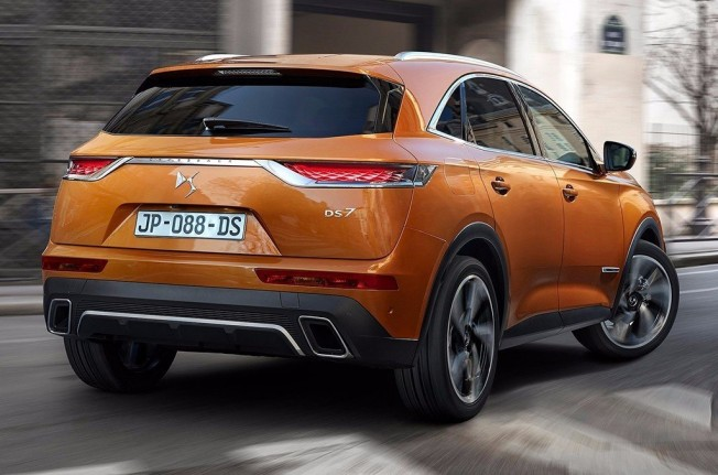 DS 7 Crossback - posterior