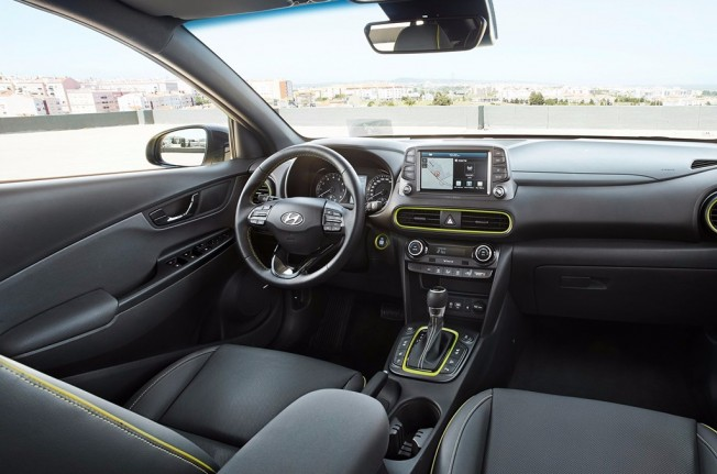 Hyundai Kona - interior