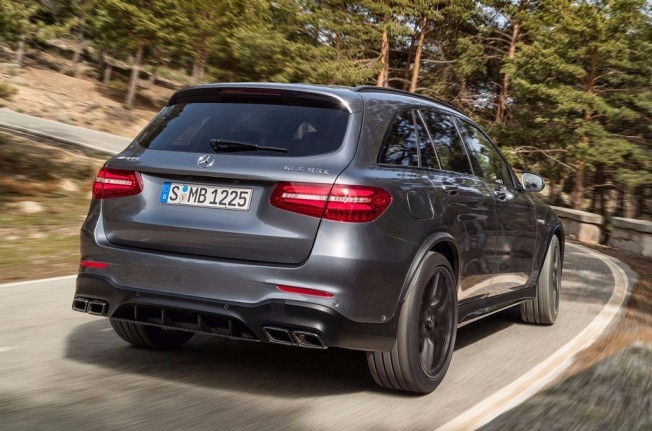 Mercedes-AMG GLC 63 S 4MATIC+ - posterior