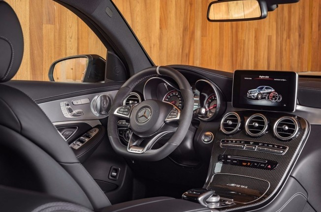 Mercedes-AMG GLC 63 S 4MATIC+ Coupé - interior