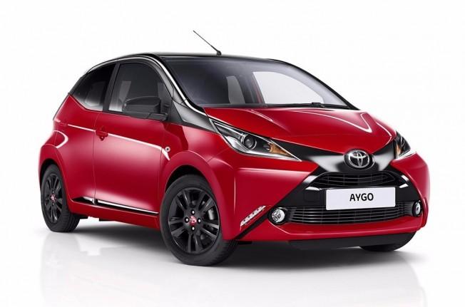 Toyota Aygo x-cite 2017