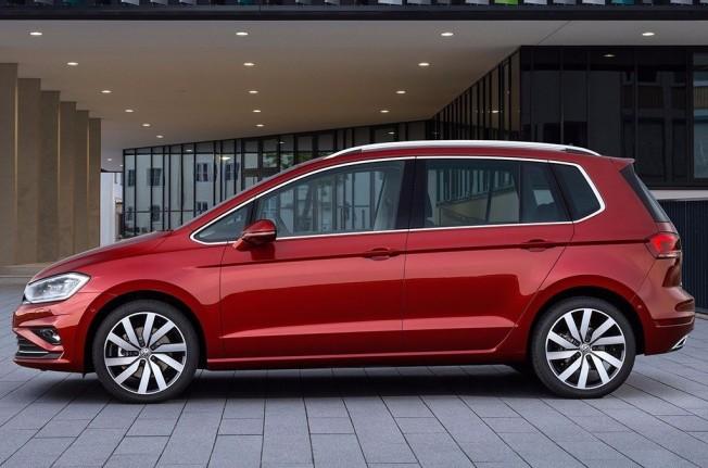 Volkswagen Golf Sportsvan 2018 - lateral