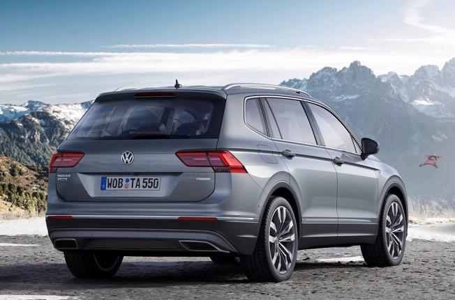 Volkswagen Tiguan Allspace - posterior