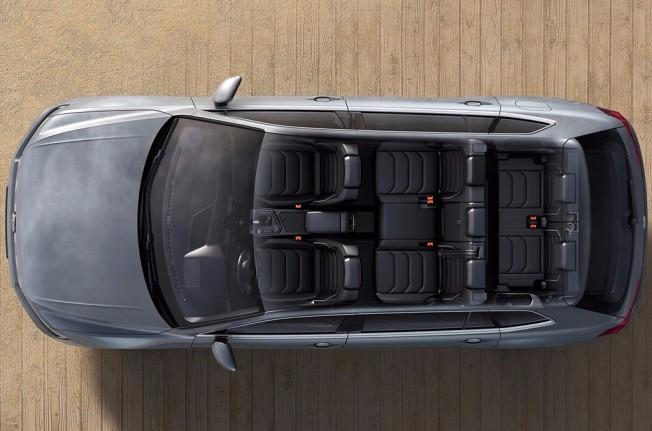 Volkswagen Tiguan Allspace - techo