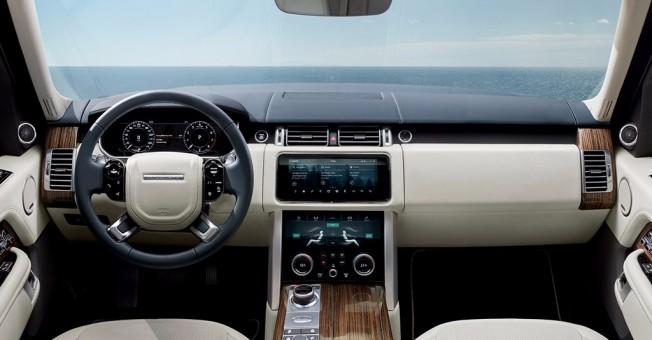 Range Rover 2018 - interior
