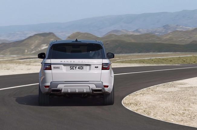 Range Rover Sport P400e - posterior