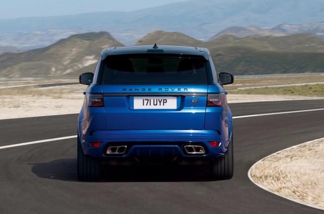Range Rover Sport SVR 2018 - posterior