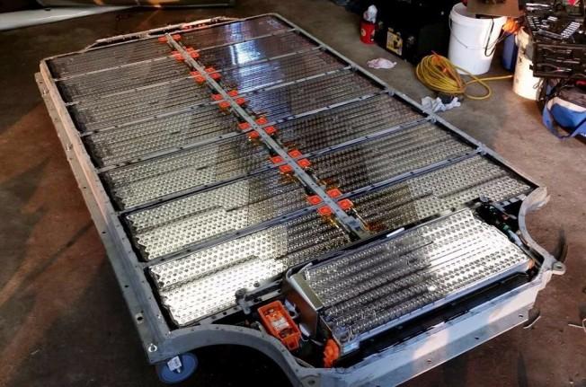 Baterías de un coche eléctrico