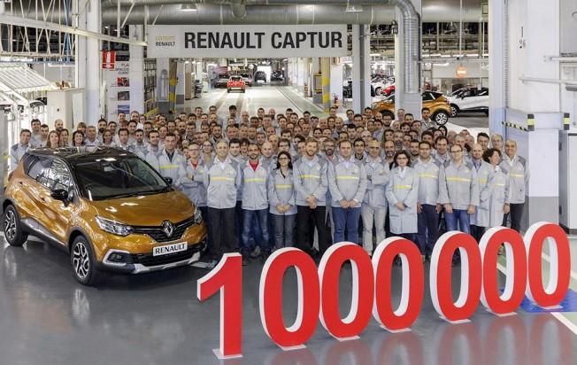 Renault Captur - unidad un millón