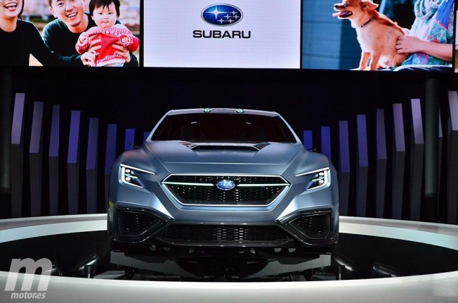 Subaru VIZIV Performance Concept - frontal