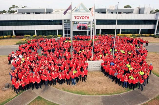 Toyota finaliza la producción de coches en Australia