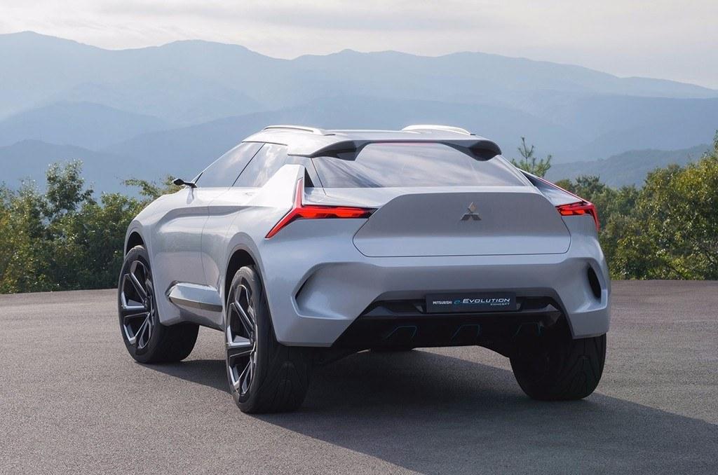 Mitsubishi e-Evolution Concept - exterior