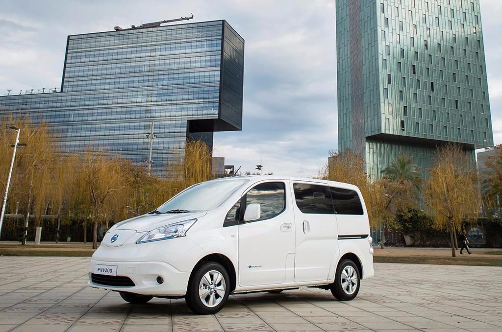 La Nissan e-NV200 estrena una nueva batería de 40 kWh