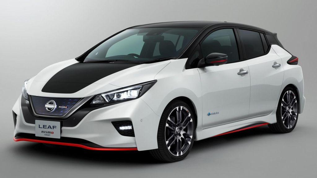Nissan Leaf NISMO Concept: todas las imágenes del deportivo eléctrico