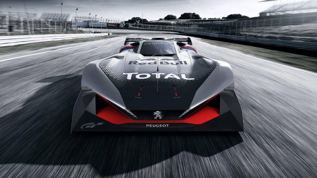 Peugeot L750 R Hybrid Vision Gran Turismo: 750 caballos virtuales