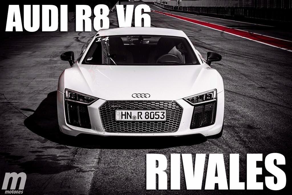 Sí, habrá un Audi R8 con un motor V6, pero ¿cuáles serán sus rivales?