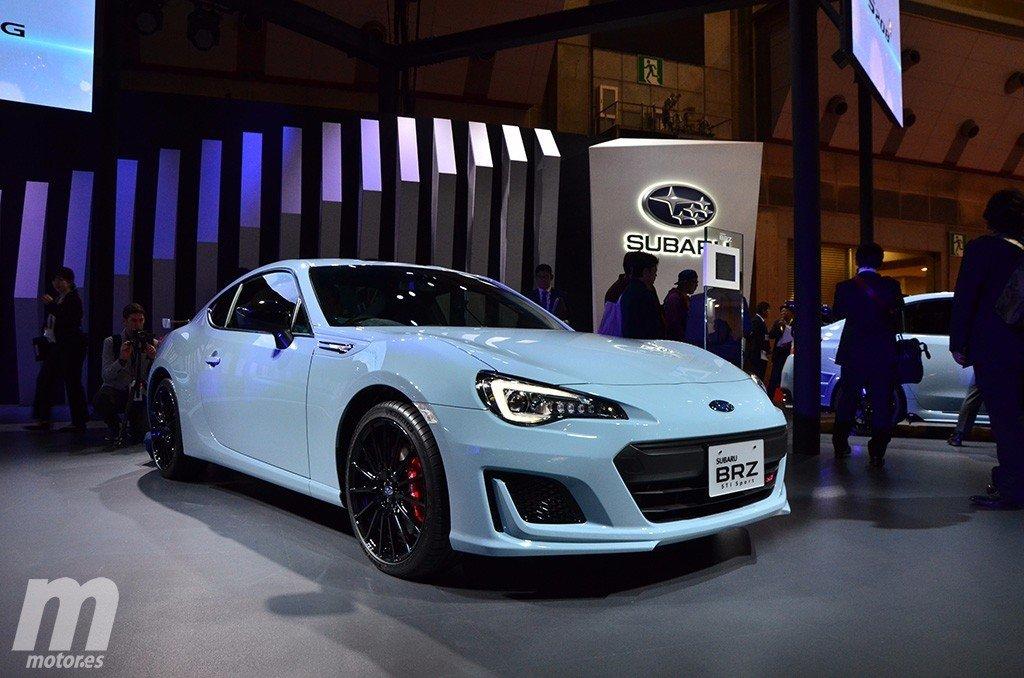 El nuevo Subaru BRZ STI Sport en vivo, desde el Salón de Tokio 2017
