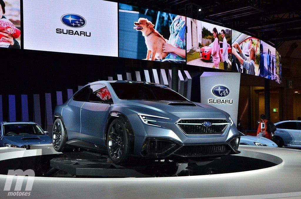 Te presentamos en vídeo al nuevo Subaru VIZIV Performance Concept