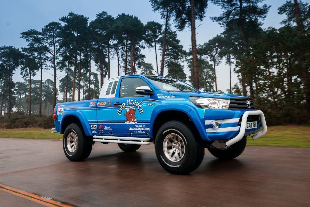 Toyota Hilux Bruiser: el célebre modelo de radiocontrol a escala real
