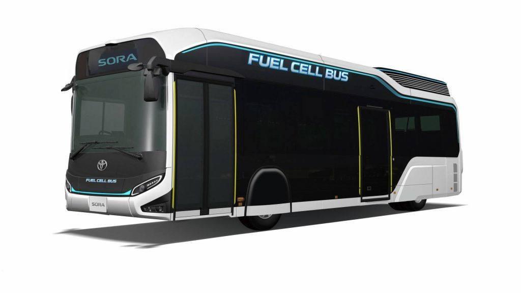 Toyota Sora Concept: el nuevo autobús de hidrógeno de Tokio