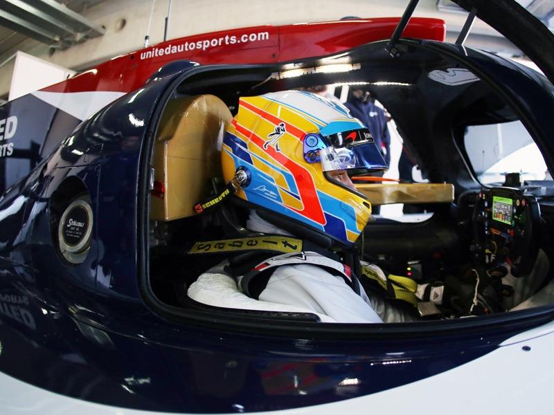 Alonso prueba en MotorLand el LMP2 de United Autosports