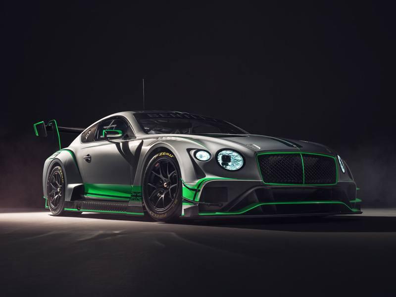 Bentley Motorsport presenta el nuevo Continental GT3
