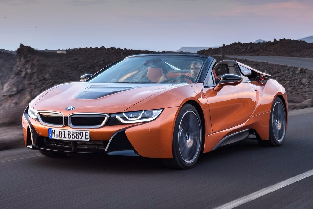 BMW i8 Roadster 2018: el deportivo híbrido enchufable se descapota